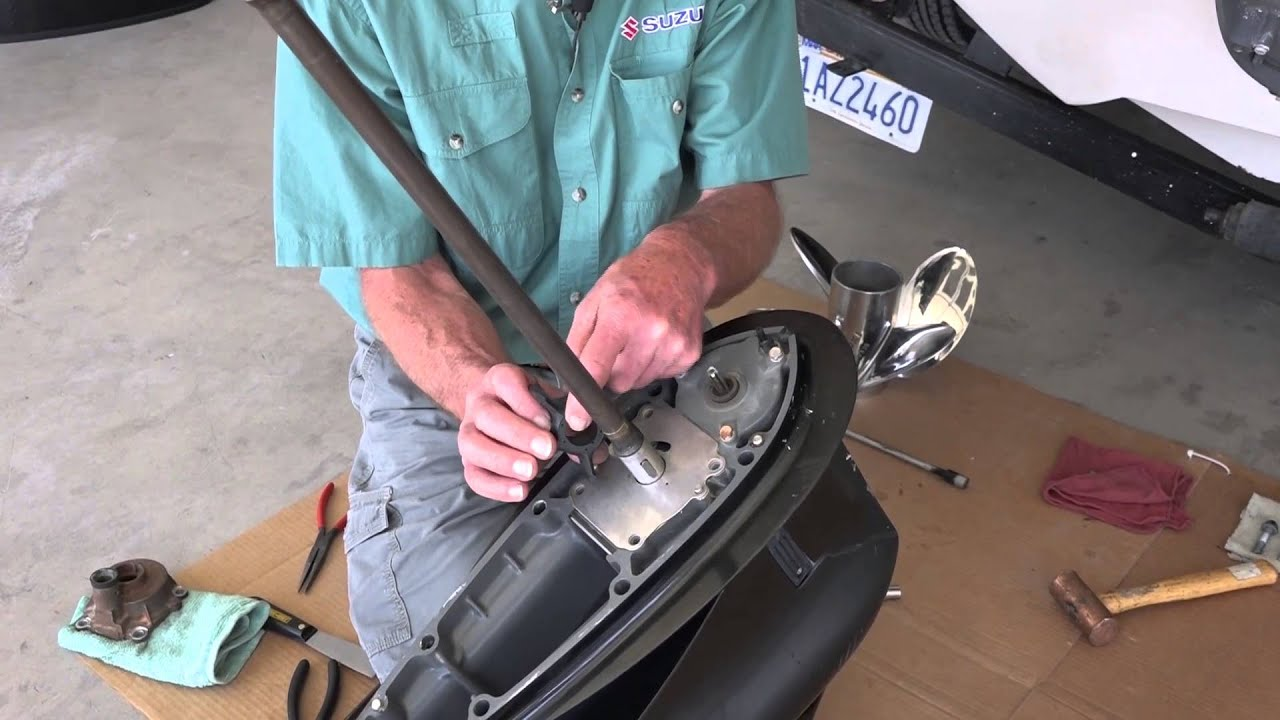 Suzuki Water Pump Impeller Replacement  YouTube