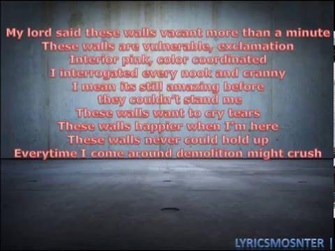 Kendrick Lamar -These walls (Lyrics) HQ