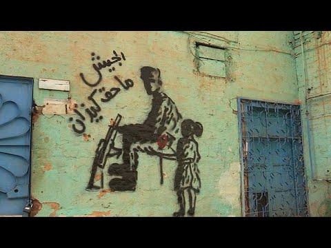 Soudan : des peintures militantes sur les murs de Khartoum