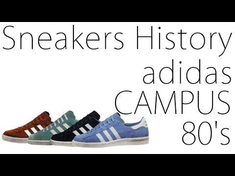 history of adidas campus