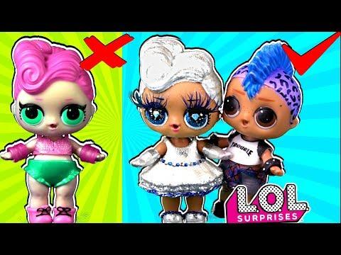 У Панки ДРУГАЯ?? Трансформация куклы ЛОЛ сюрприз в салоне красоты! Мультик LOL Dolls