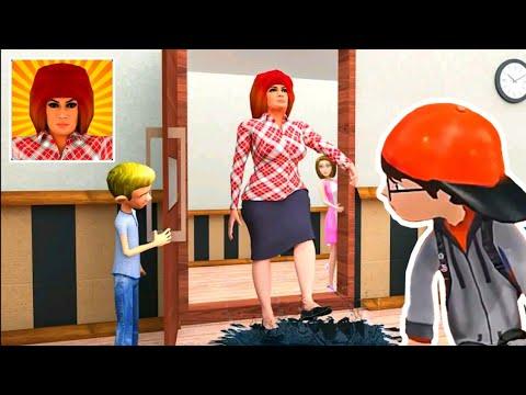 Scary Teacher Home Prank Escape - Gameplay - Walkthrough - Part 1 [Android - ios]