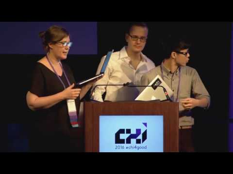 CHI 2016 Student Game Competition