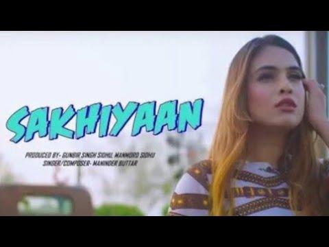 Sakhiyan - Female Version Hit Song ||  Love Status || Heart Teching Song || Romantic Song || Full Sc