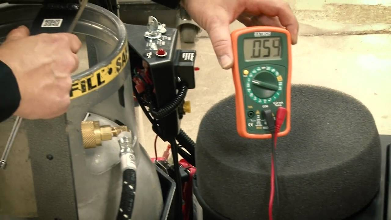 Propane Technician Training: Adjusting The Fuel Setting