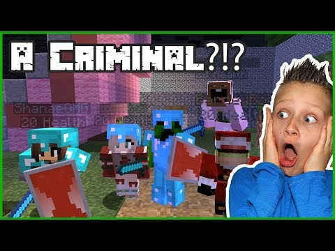 A Criminal in Minecraft?!?