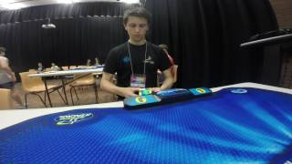 6x6 Rubik's cube world record - 1:32.47