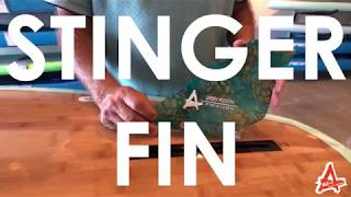 Stinger - Fibre Glas Fin Co - Larry Allison Finologist
