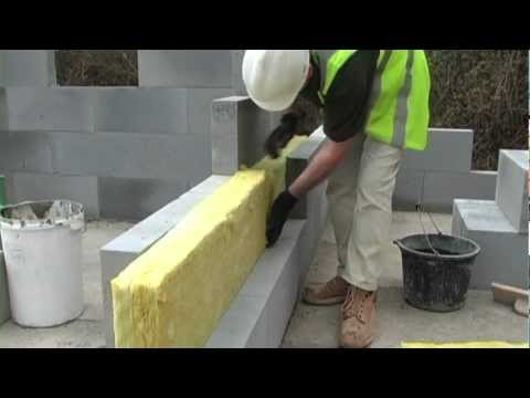 Separating Wall Construction & Fill With Insulation - H+H UK