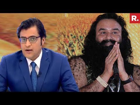 Arnab Goswami On VVIP Facilities Provided To Ram Rahim Singh In Jail