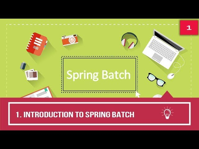 Spring Batch for Beginners