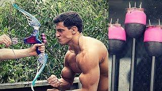 THUMBTACK NERF BOW | Bodybuilder VS Most Dangerous Kid Toy Of All Time | Nerf Gun Challenge Fail