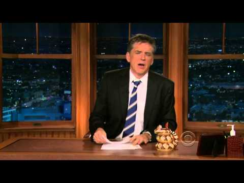 Late Late Show with Craig Ferguson 5/13/2010 Robert Downey Jr, Dave Barry
