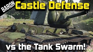 War Thunder Tanks Gameplay - German Panther Tanks vs The Swarm!