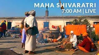 LIVE   Maha Shivaratri from Pashupatinath Temple   7:00 AM Morning Walk Tour