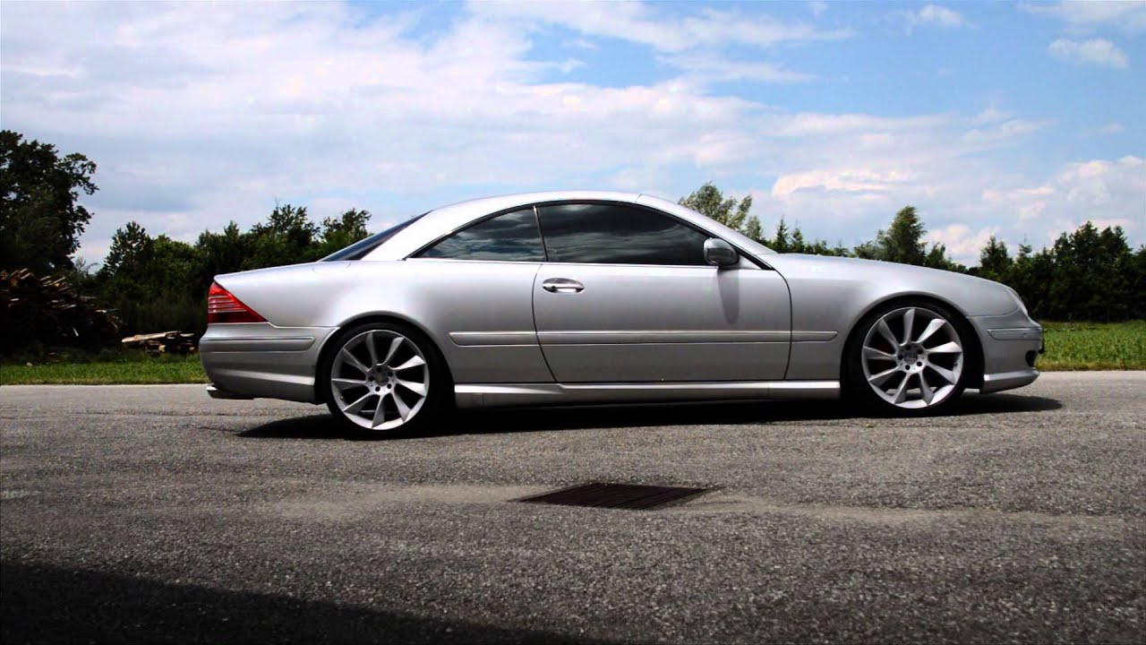 Mercedes Cl 55 Lorinser 20 Zoll Exhaust Youtube