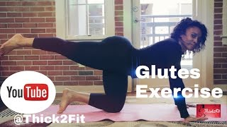 Glute Exercises : How to build BIGGER & BETTER Glutes in Minutes!!
