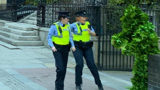 Garda/Police screamed so loudly: Scared the life out of them: Bushman Prank