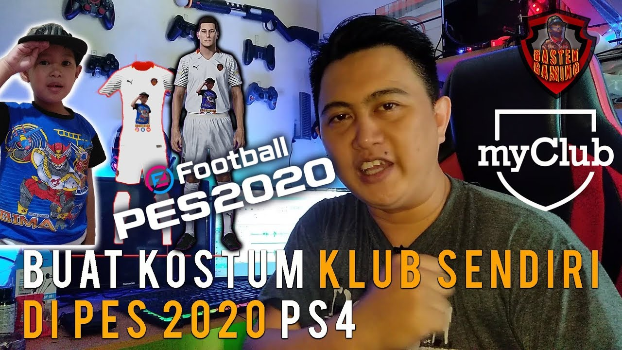 How To Custom Kits And Logo For Pes 2020 PS4