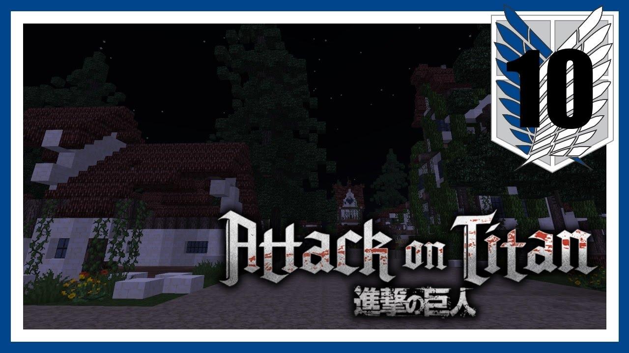 Minecraft - Attack on Titan! - Episode 10 - Double Kill ...
