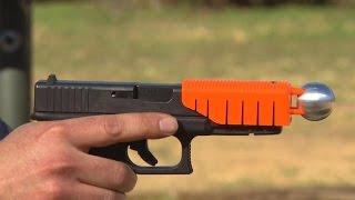 Ferguson police testing new, less lethal gun technology
