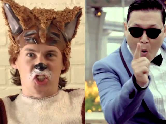 What does the Fox say/Gangnam Style (Ylvis and Psy) Mashup #1