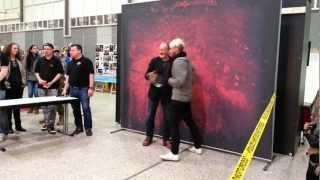 Robert Englund und Ken Kirzinger @ MovieDays 2013 in Dortmund