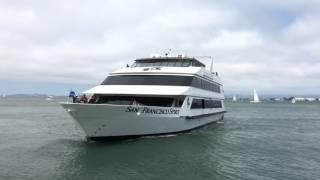 San Francisco Spirit Hornblower San Francisco California [Hyperlapse]