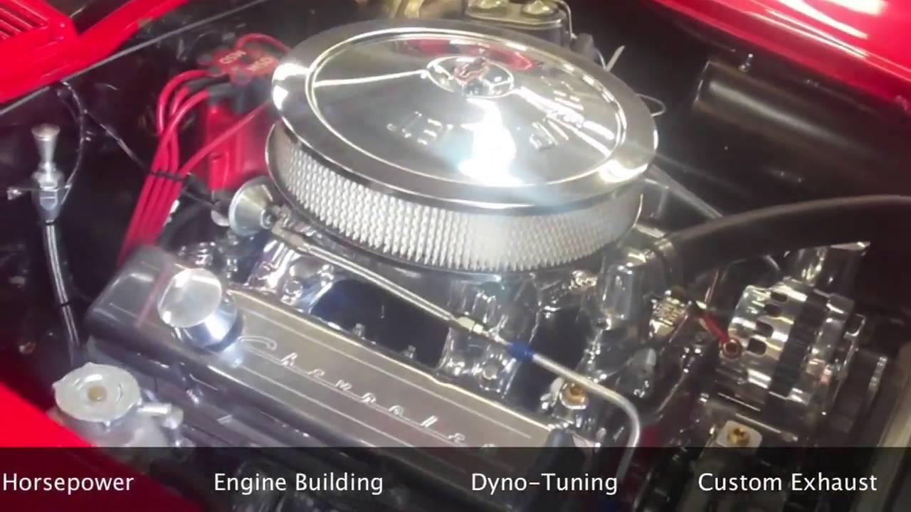 1963 Chevy Corvette Engine