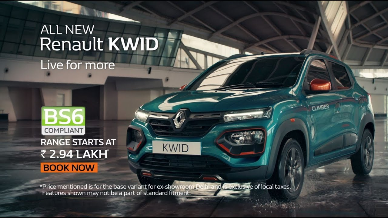 Command Attention in the Renault KWID