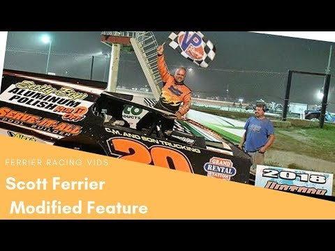 Scott Ferrier Feature Accord Speedway 9-20-19