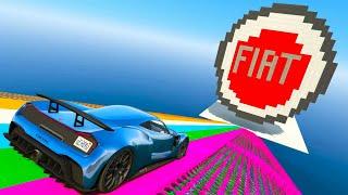 GTA 5 🐷 MEGA RAMPA FIAT !!! 🐷 DAJE !!!