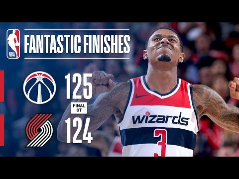 Thrilling OT Finish Between the Wizards and Blazers | October 22, 2018