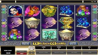 Witches Wealth ™ free slots machine game preview by Slotozilla.com
