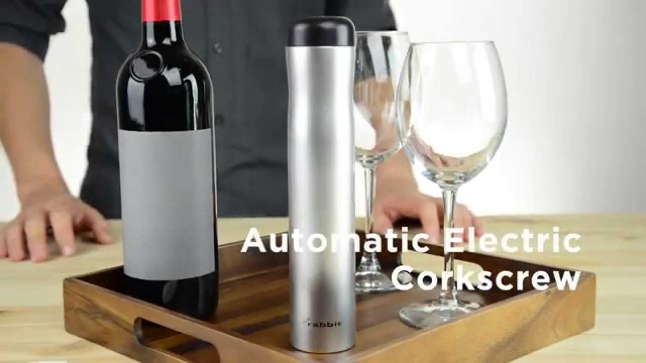 Rabbit Auto Electric Corkscrew Youtube