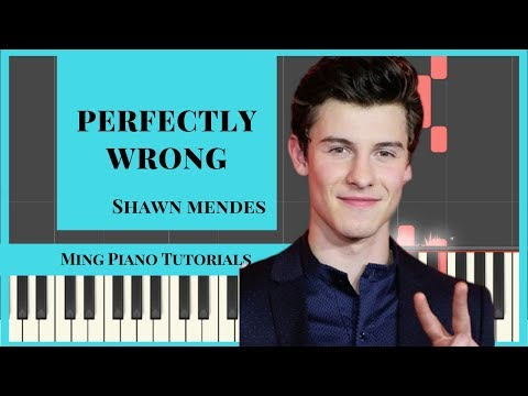 Perfectly Wrong - Shawn Mendes Piano Cover (MIDI & SHEETS) Ming Piano Tutorials