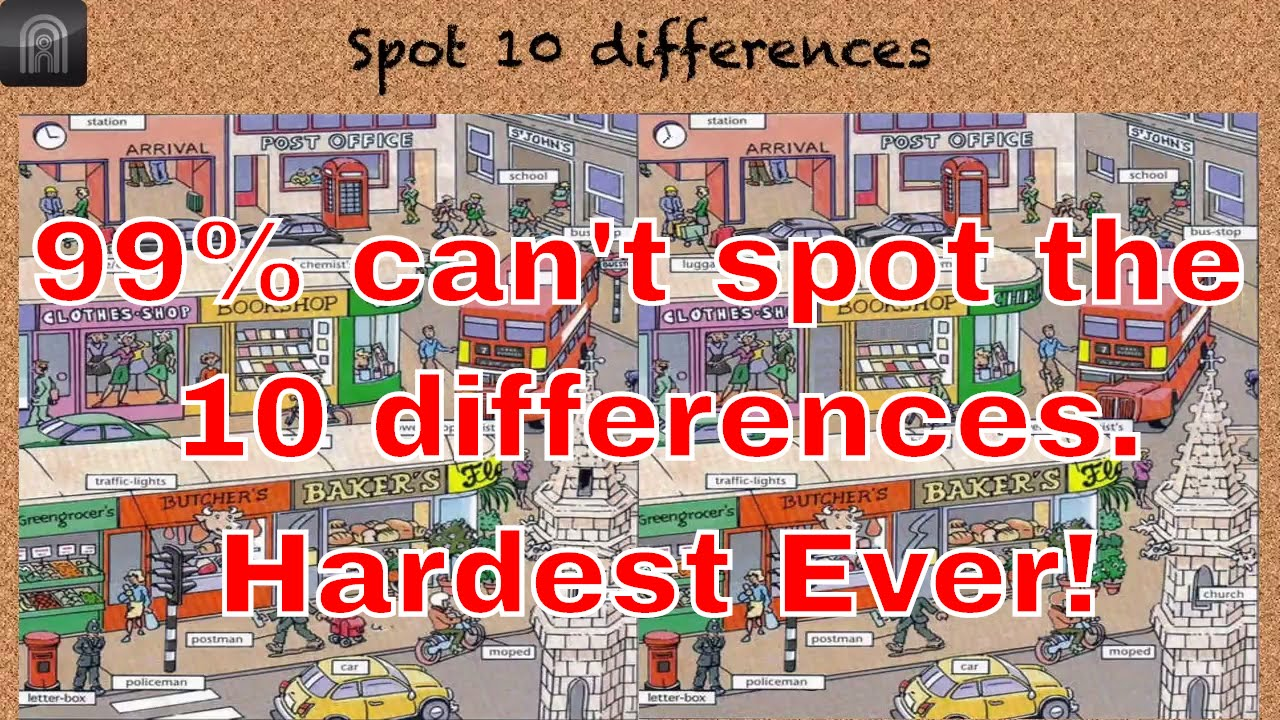 Find The Difference Between Two Pictures   10 Differences
