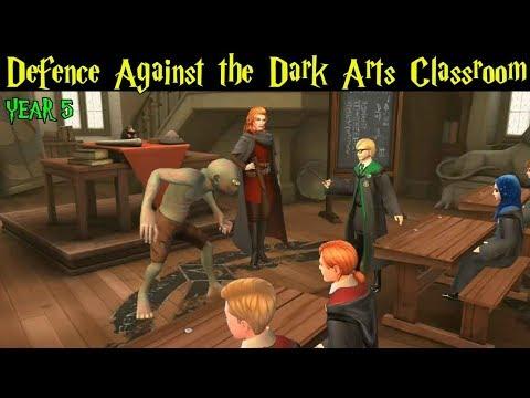 Defence Against The Dark Arts Classroom Harry Potter Hogwarts