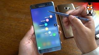 Samsung Galaxy Note7 Hands On und Kurztest [Deutsch - German]
