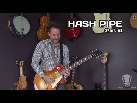 Hash Pipe by Weezer - Guitar Lesson - Part 2 Solo