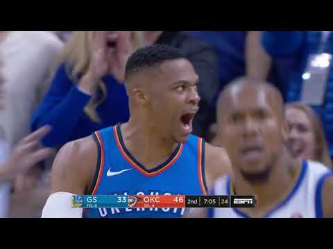 Golden State Warriors vs. Oklahoma City Thunder - November 22, 2017