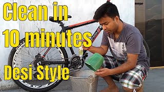 How To Clean Your Mountain Bike in 10 Minutes