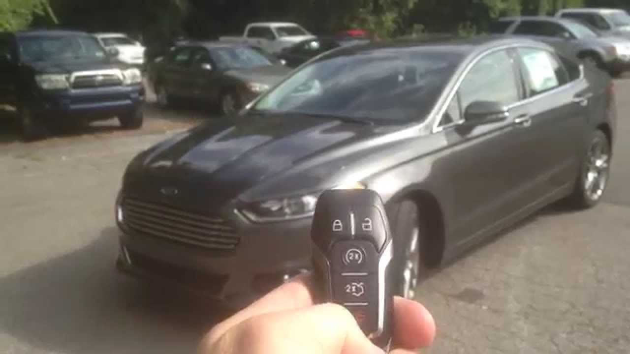 2015 Ford Fusion Review New Features And Options Youtube
