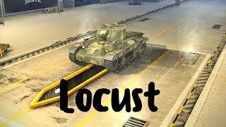 Locust (прем танк 3 уровня). World of Tanks Blitz. Летсплей