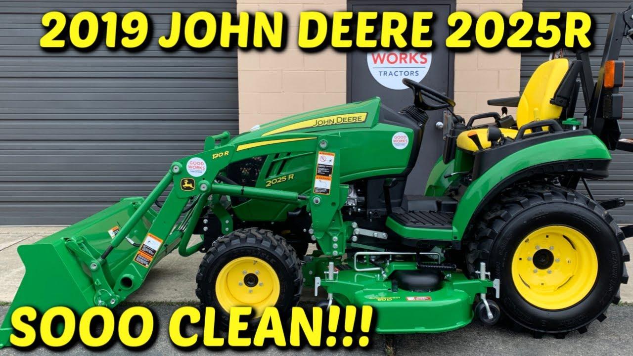 [SCHEMATICS_4FR]  2019 John Deere 2025r Overview! Tractor, 120r Loader, AutoConnect 60 Deck,  54 Snowblower, Warranty! - YouTube | 2025 John Deere Wiring Diagram |  | YouTube