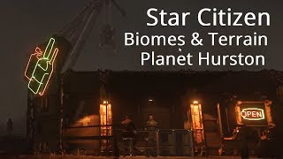 Star Citizen | First Full Planet & Moons in 3.3 - New Biomes