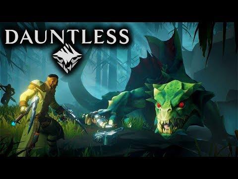 Dauntless Gameplay - Rogue Drask Hunt! (Chain Blades) (Dauntless Founder's Alpha Gameplay)