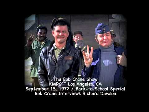 The Bob Crane Show / KMPC~Los Angeles / Richard Dawson Interview September 15, 1972