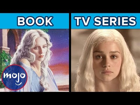 Top 10 Game of Thrones Characters Who Are Different in the Books