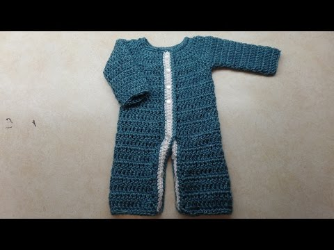 CROCHET (How to #Crochet) (#Newborn Baby Sleeper) #TUTORIAL #293 LEARN CROCHET